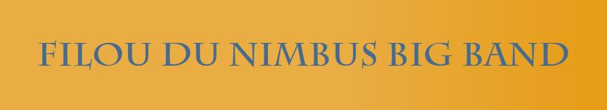 Gästebuch Banner - verlinkt mit http://www.filou-du-nimbus-big-band.de